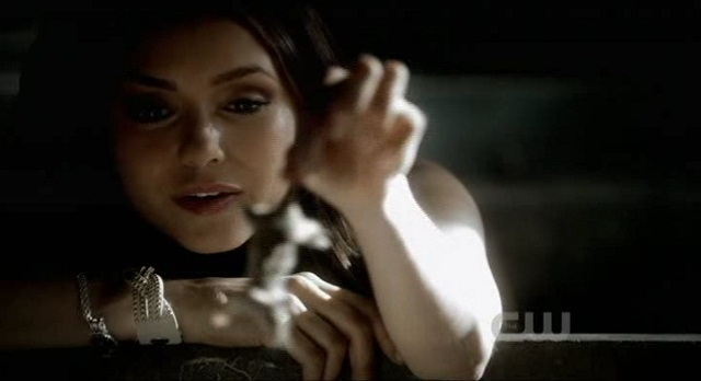 The Vampire Diaries 3x06 Katherine Feeds Mikael