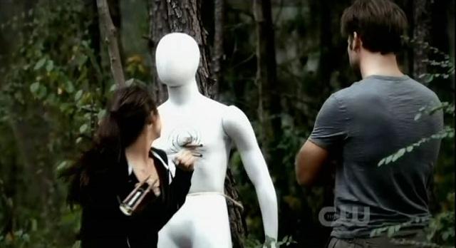 The Vampire Diaries 3x06 Elena and Alaric train