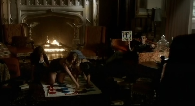 The Vampire Diaries 3x06 Stefan plays Twister