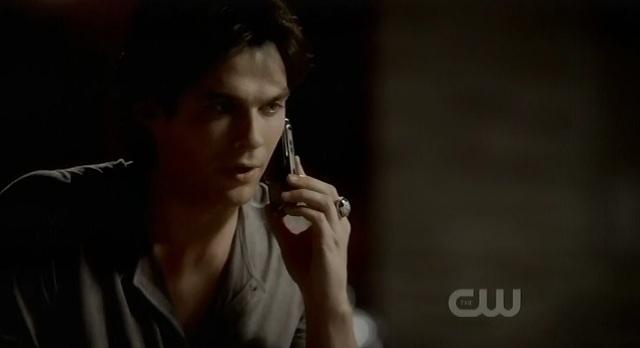 The Vampire Diaries 3x06 Damon calls Elena