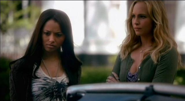 The Vampire Diaries 3x07 Bonnie and Caroline talk to Damon