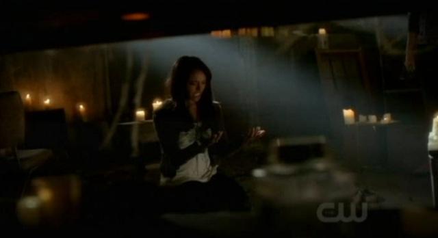 The Vampire Diaries 3x07 Bonnie chanting spell