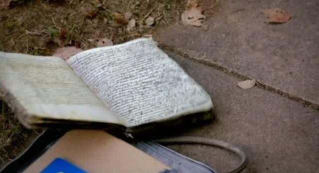 The Vampire Diaries 3x07 Bonnie's Spell Book