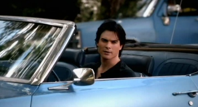The Vampire Diaries 3x07 Damon pulls up for a chat