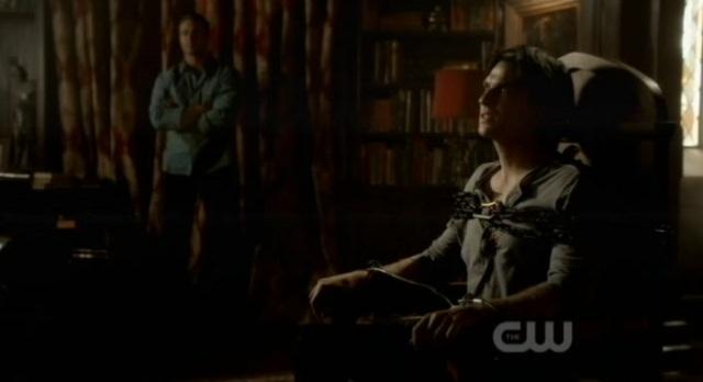 The Vampire Diaries 3x07 Damon Tortured