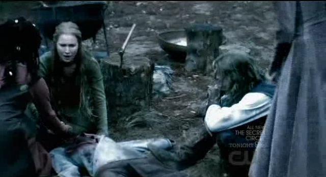 The Vampire Diaries S3x08 - Henric is dead