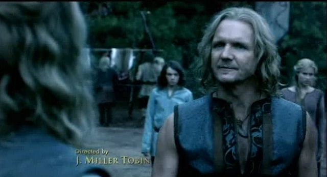 The Vampire Diaries S3x08 - Mikael confronts Klaus
