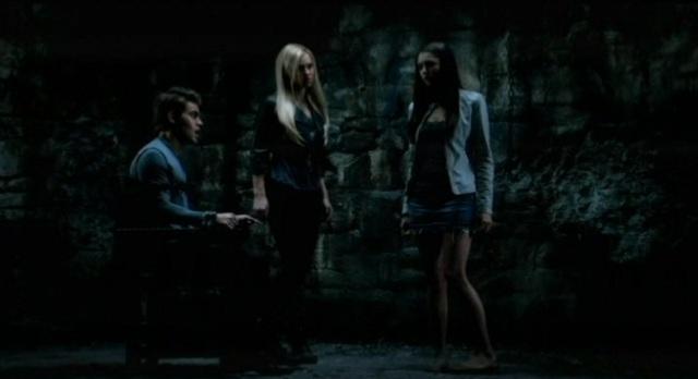 The Vampire Diaries 3x07 Elena is upset by Stefan's torture