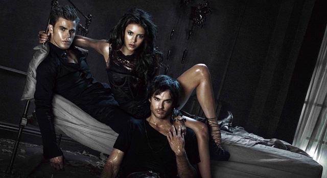 The Vampire Diaries Season 2 Group Shot