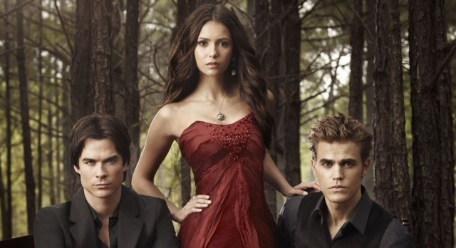 The Vampire Diaries Promotional Banner Photograph