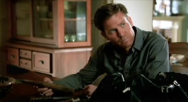 The Vampire Diaries S3x13 Alaric and his arsenal
