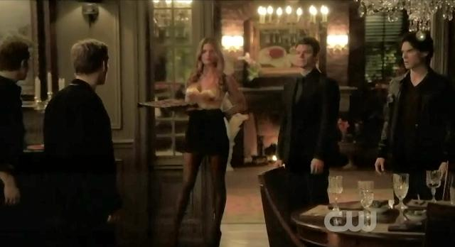 The Vampire Diaries S3x13 Elijah returns to surprise Klaus