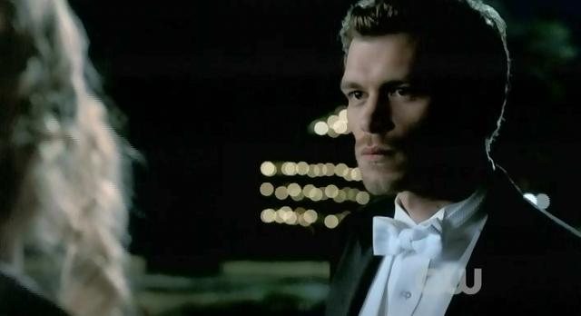 The Vampire Diaries S3x14 Caroline and Klaus speak of their fathers