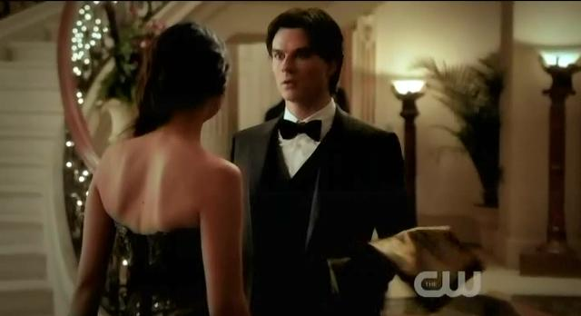 The Vampire Diaries S3x14 Damon catches up to Elena