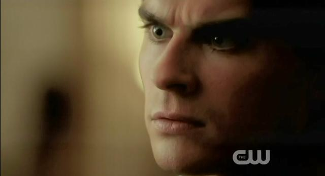 The Vampire Diaries S3x14 Damon hurt by Elena