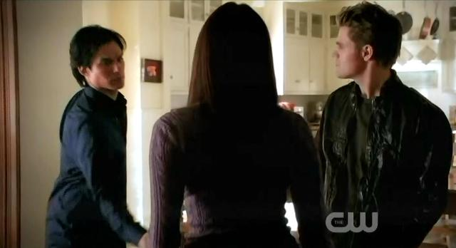 The Vampire Diaries S3x14 Damon takes Elena's invitation