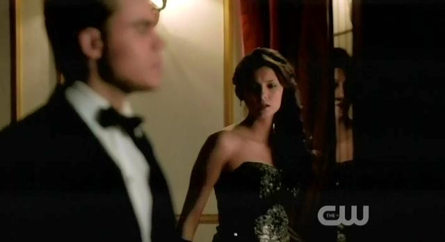 The Vampire Diaries S3x14 Elena and Stefan ambush Damon