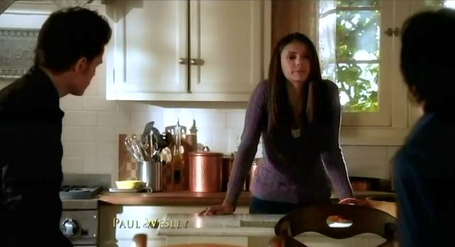 The Vampire Diaries S3x14 Elena and the Salvatore brothers