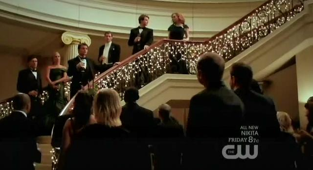 The Vampire Diaries S3x14 Elijah welcomes everyone to ball