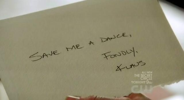 The Vampire Diaries S3x14 Klaus sends invitation to Caroline