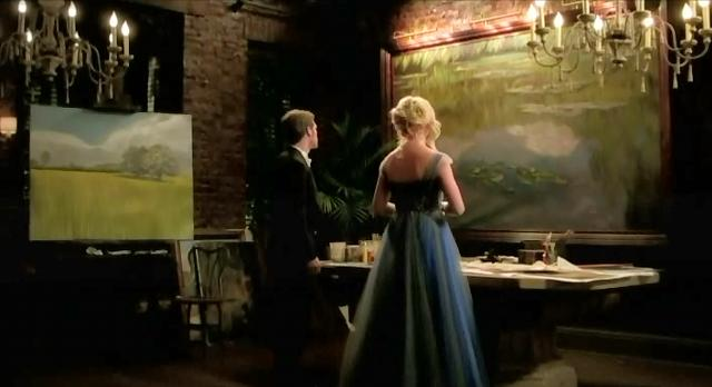 The Vampire Diaries S3x14 Klaus shows Caroline his passion for paintings