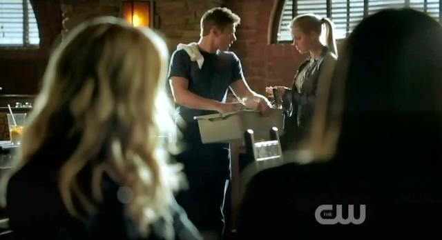 The Vampire Diaries S3x14 Rebekah invites Matt to the ball