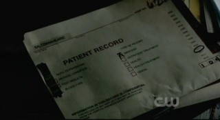 The Vampire Diaries S3x15 - Alaric finds the patient records