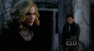 The Vampire Diaries S3x15 - Dear Mom Esther portrayed by lovely Alice Evans