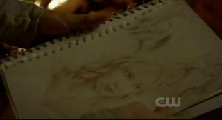 The Vampire Diaries S3x15 - Drawings of Caroline