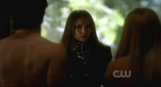 The Vampire Diaries S3x15 - Elena catches Rebekah and Damon in the act
