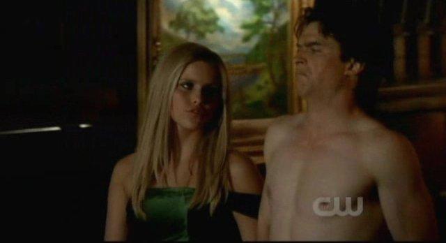 The Vampire Diaries S3x15 - Rebekah informs Damon of Esthers plan