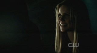The Vampire Diaries S3x15 - Rebekahs smile belies her delight in having Elana trapped
