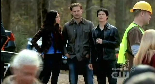 The Vampire Diaries S03x17 Damon at Wickery bridge