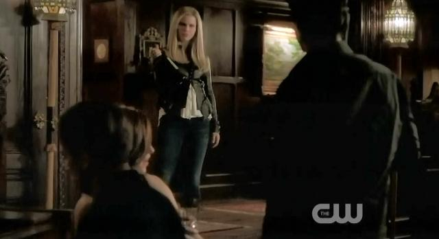 The Vampire Diaries S03x17 Rebekah joining party