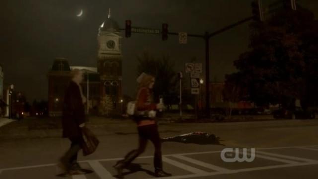The Vampire Diaries 3x16 - Zachariah's body on the floor