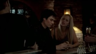 The Vampire Diaries 3x16 - Rebekah asks Damon about his family, trying to get information about the old oak tree