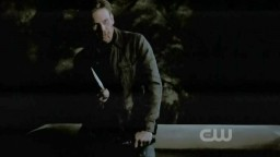 The Vampire Diaries S3x19 Alaric's alter ego finding the last stake