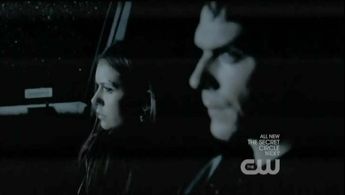 The Vampire Diaries S3x19 Elena and Damon on the way home