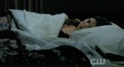 The Vampire Diaries S3x19 Elena peeking at Damon!
