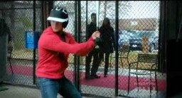 The Vampire Diaries S3x19 Jeremy in the batting cage