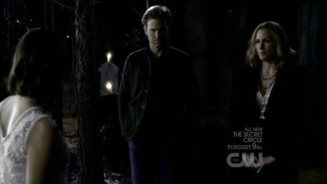 The Vampire Diaries S3x20 - Elena, ALaric and Esther