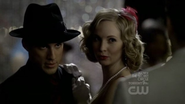 The Vampire Diarieis 3x20 - Klaus interrupts Tyler and Caroline dancing