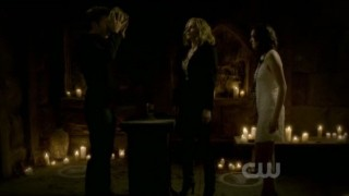 The Vampire Diaries S3x20 - Alaric is almost an original vampire
