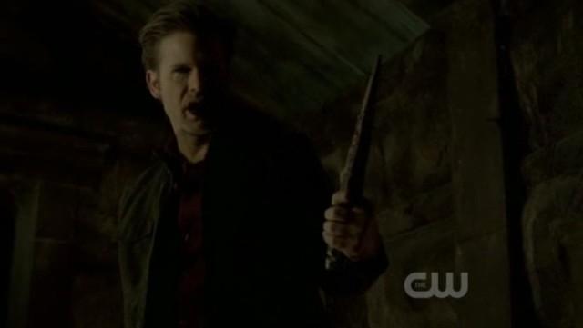 The Vampire Diaries 3x20 - Alaric, the ripper of original vampires is born