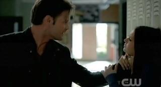 The Vampire Diaries S3x21 Alaric hurting Elena