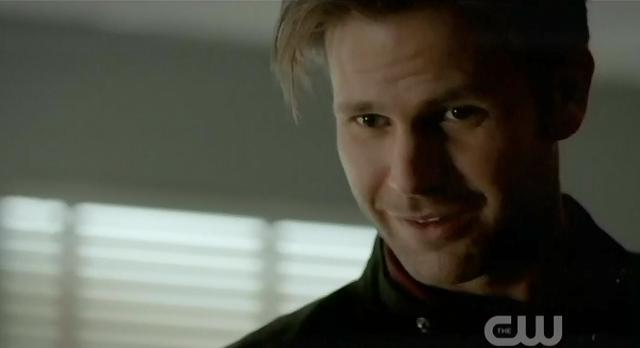 The Vampire Diaries S3x21 Alaric talking to Elena