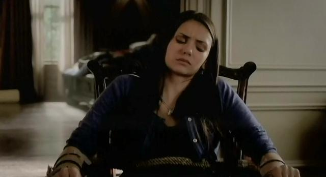 The Vampire Diaries S3x21 Elena getting her blood drained