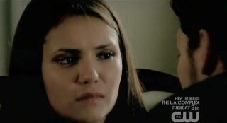 The Vampire Diaries S3x21 Klaus threatening Elena
