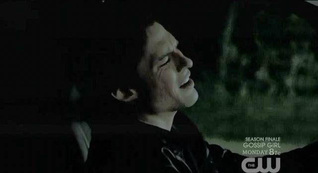 The Vampire Diaries S3x22 Damon not happy about Elijahs appearance
