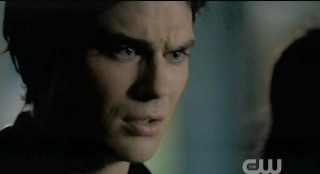 The Vampire Diaries S3x22 Damon talking to Meredith